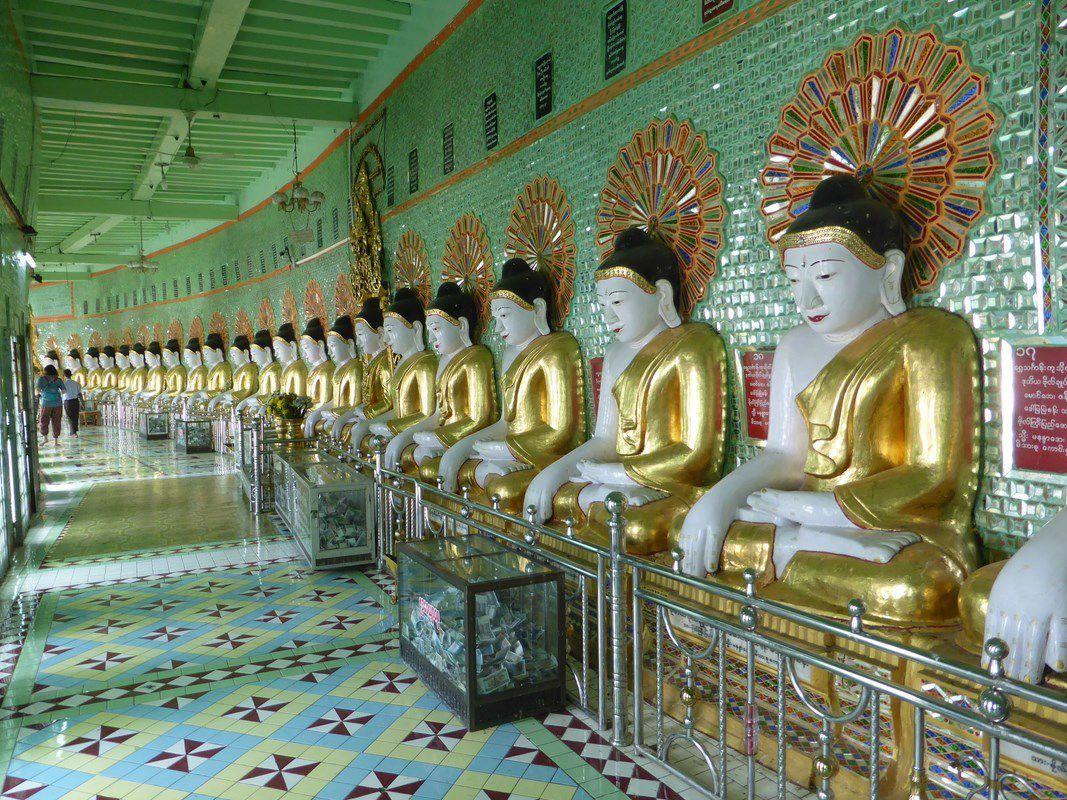 J4 – Mercredi 4 janvier 2017 – Autour de Mandalay, les 3 autres capitales royales birmanes