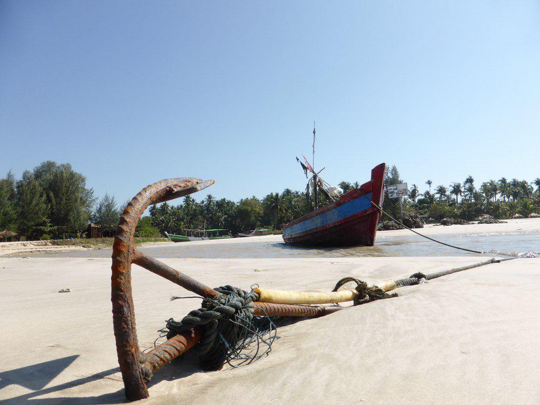 J14 – Samedi 14 janvier 2017 - Ngapali Beach sur le golfe du Bengale...