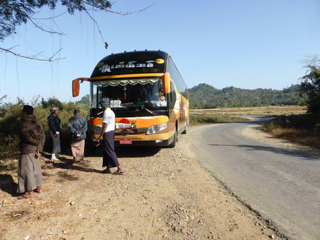J15 – Dimanche 15 janvier 2017 – Sur la route de Chaungtha...