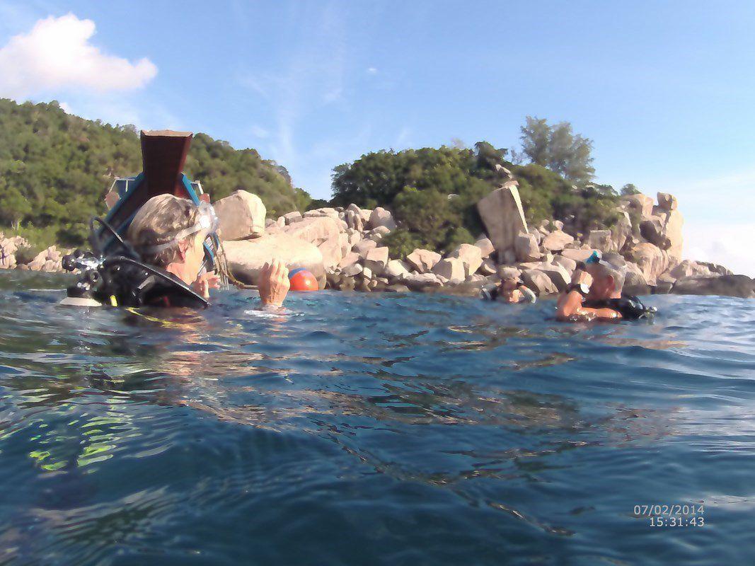 J36 – Dimanche 5 février 2017 – Journée plongée à Koh Tao