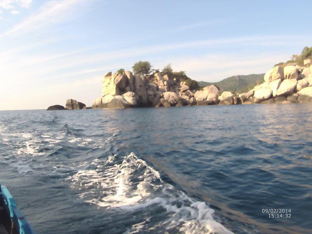 J38 – Mardi 7 février 2017 – Nouvelles plongées à Koh Tao