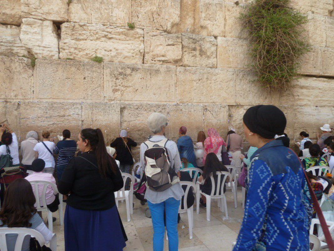Virée de Cath et Françoise dans Jérusalem