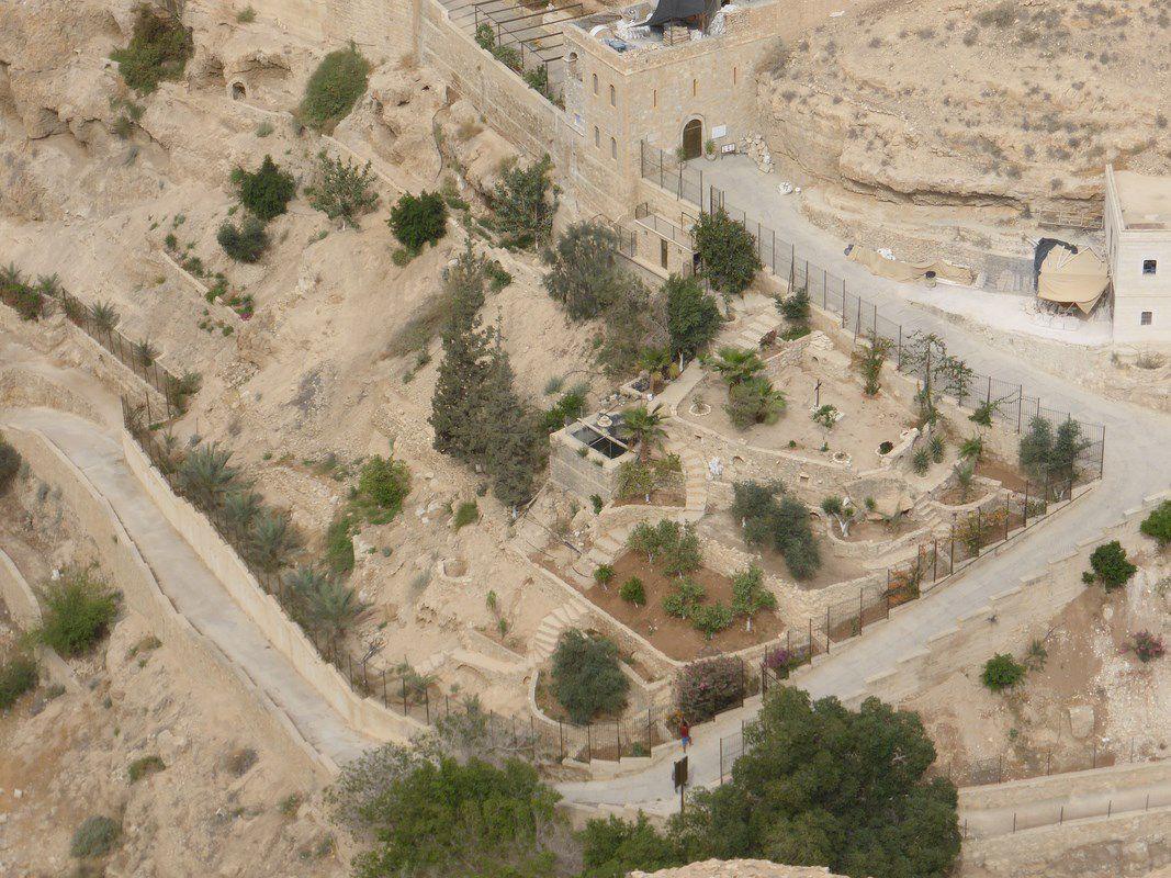 Remontée du Wadi Qelt, vers le Monastère Saint-Georges