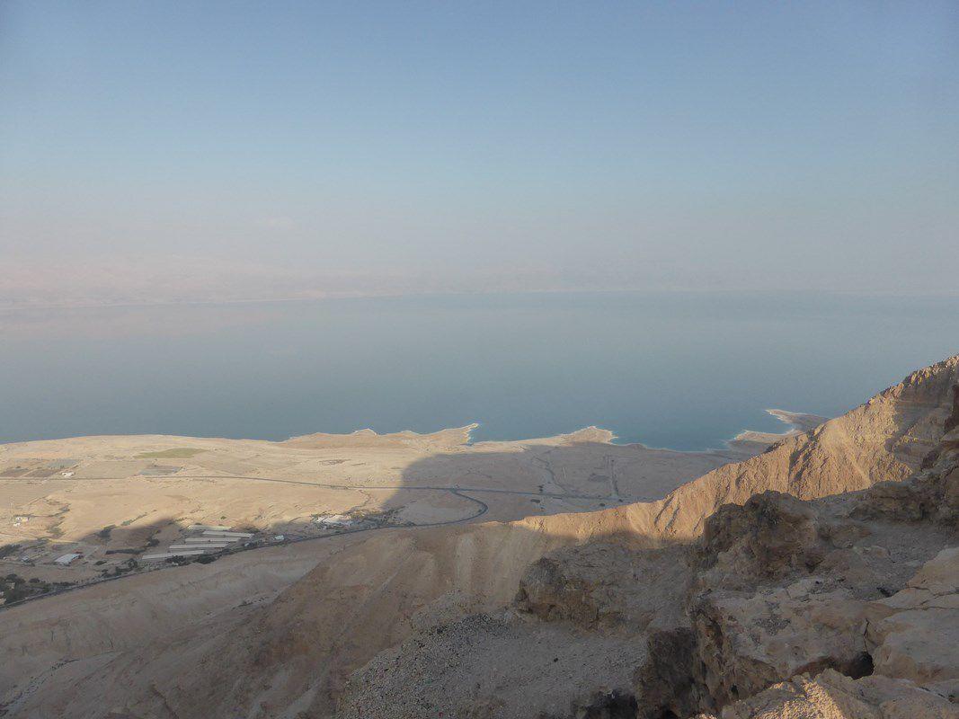 Vue sur la mer Morte