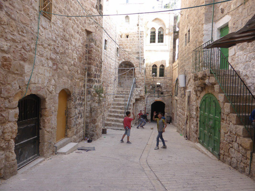 La vieille ville d'Hébron