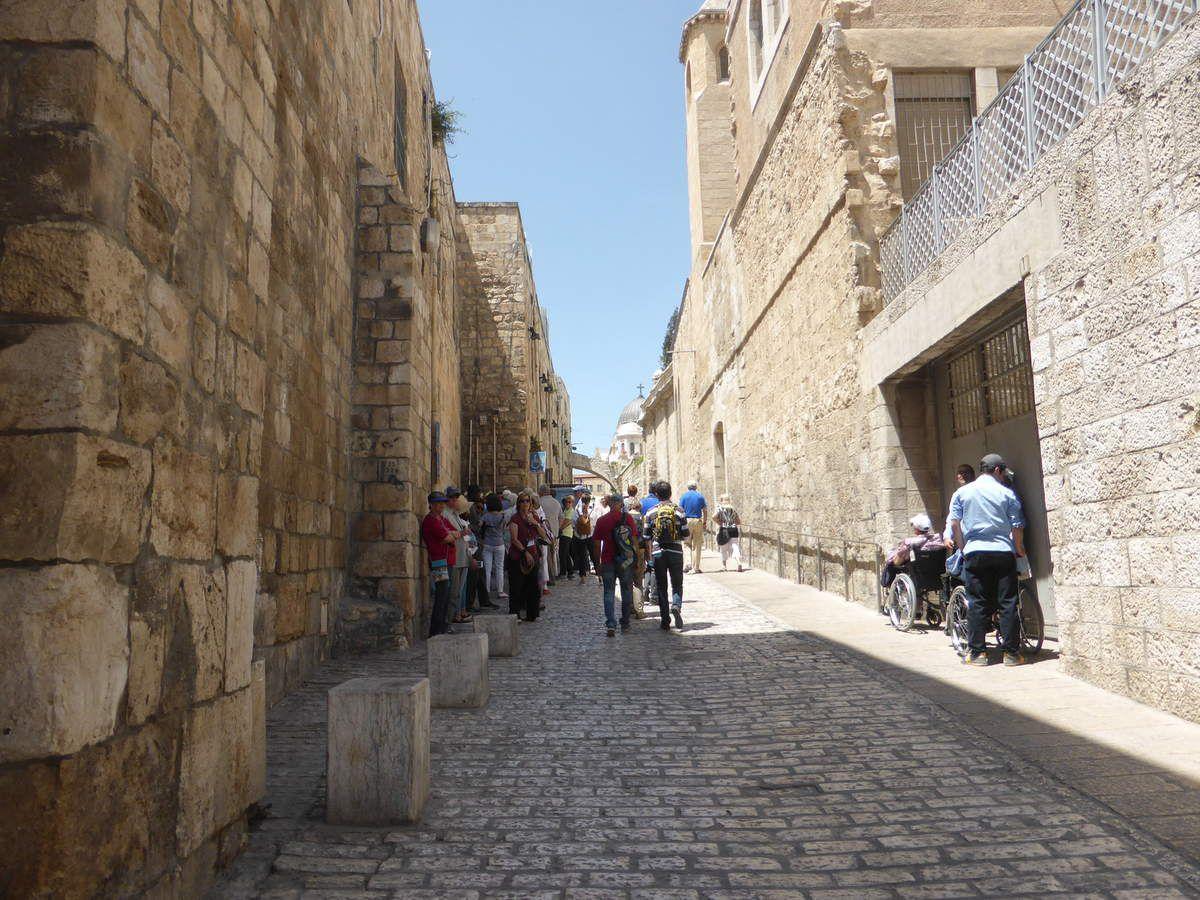 Visite de Jérusalem