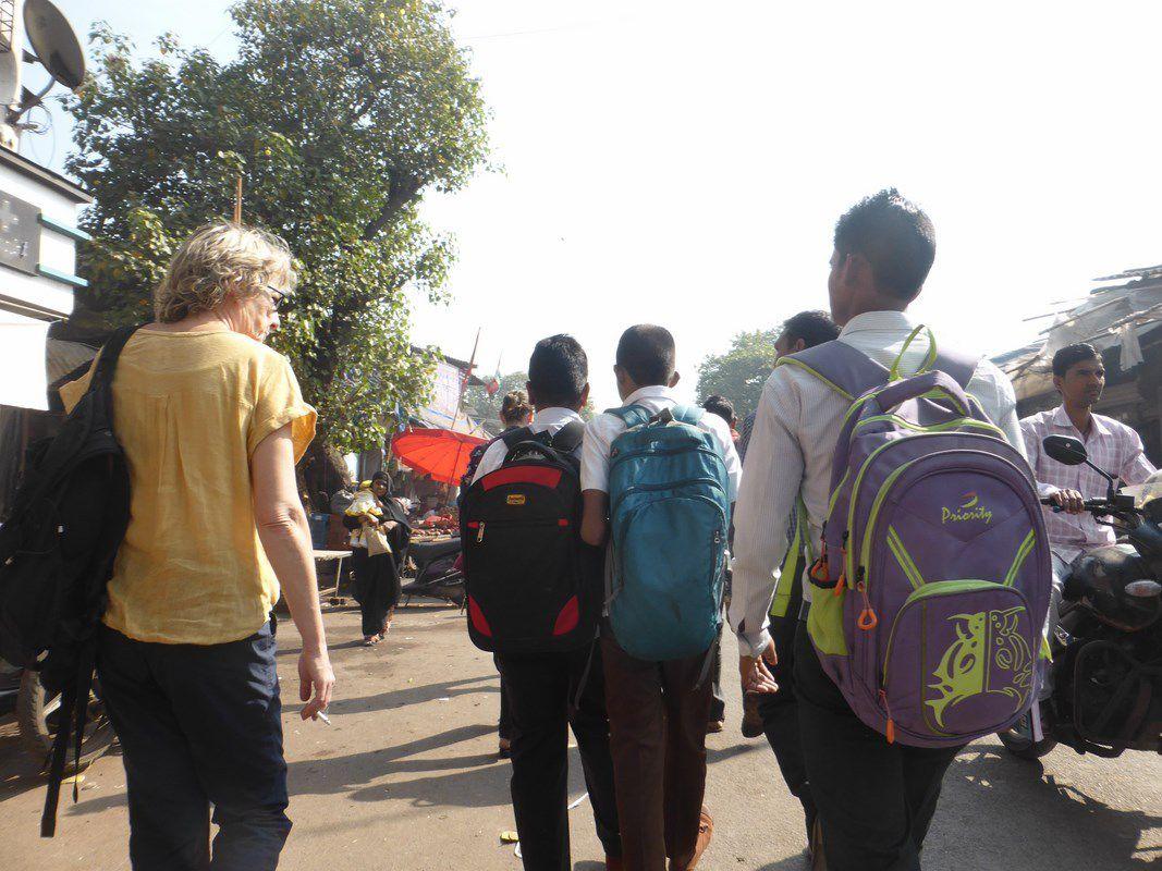 Samedi 23 décembre 2017 – J3 – Visite d'un slum