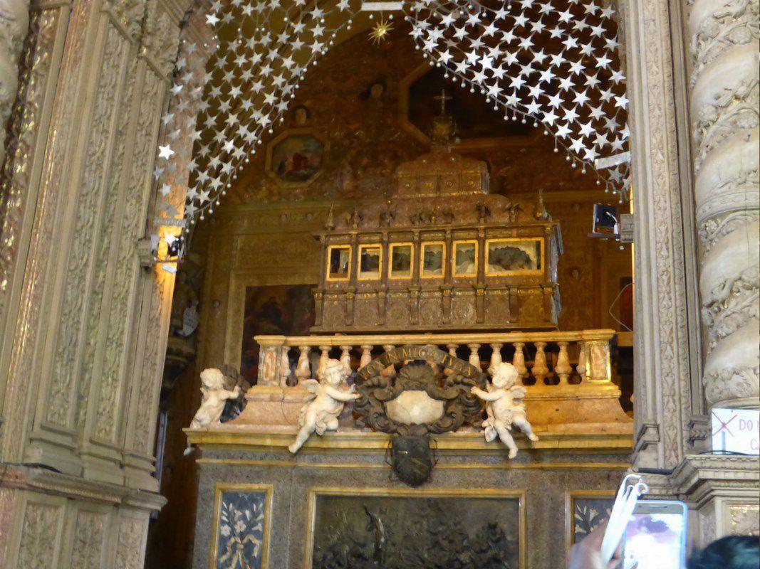La basilique du Bom Jesus avec le tombeau de Saint François-Xavier