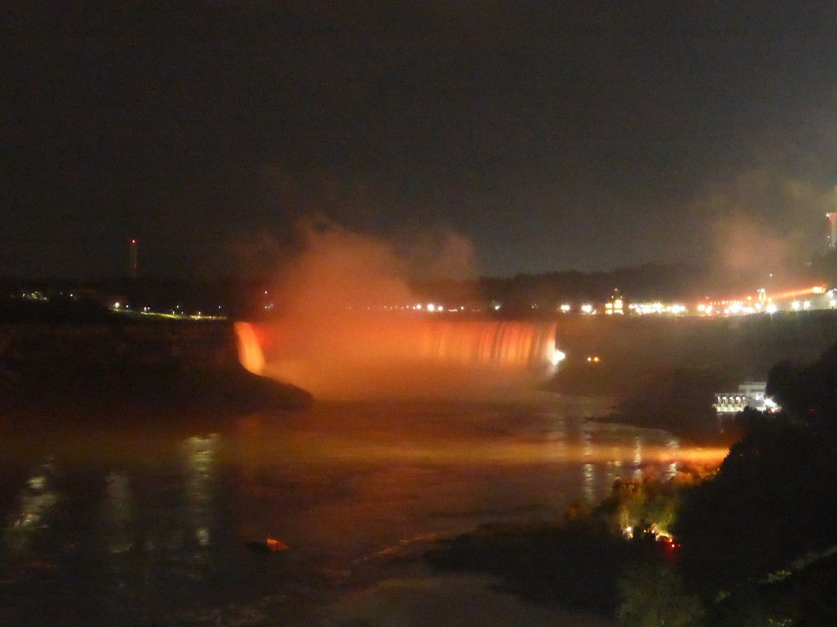 Lundi 27 août 2018 - Niagara Falls