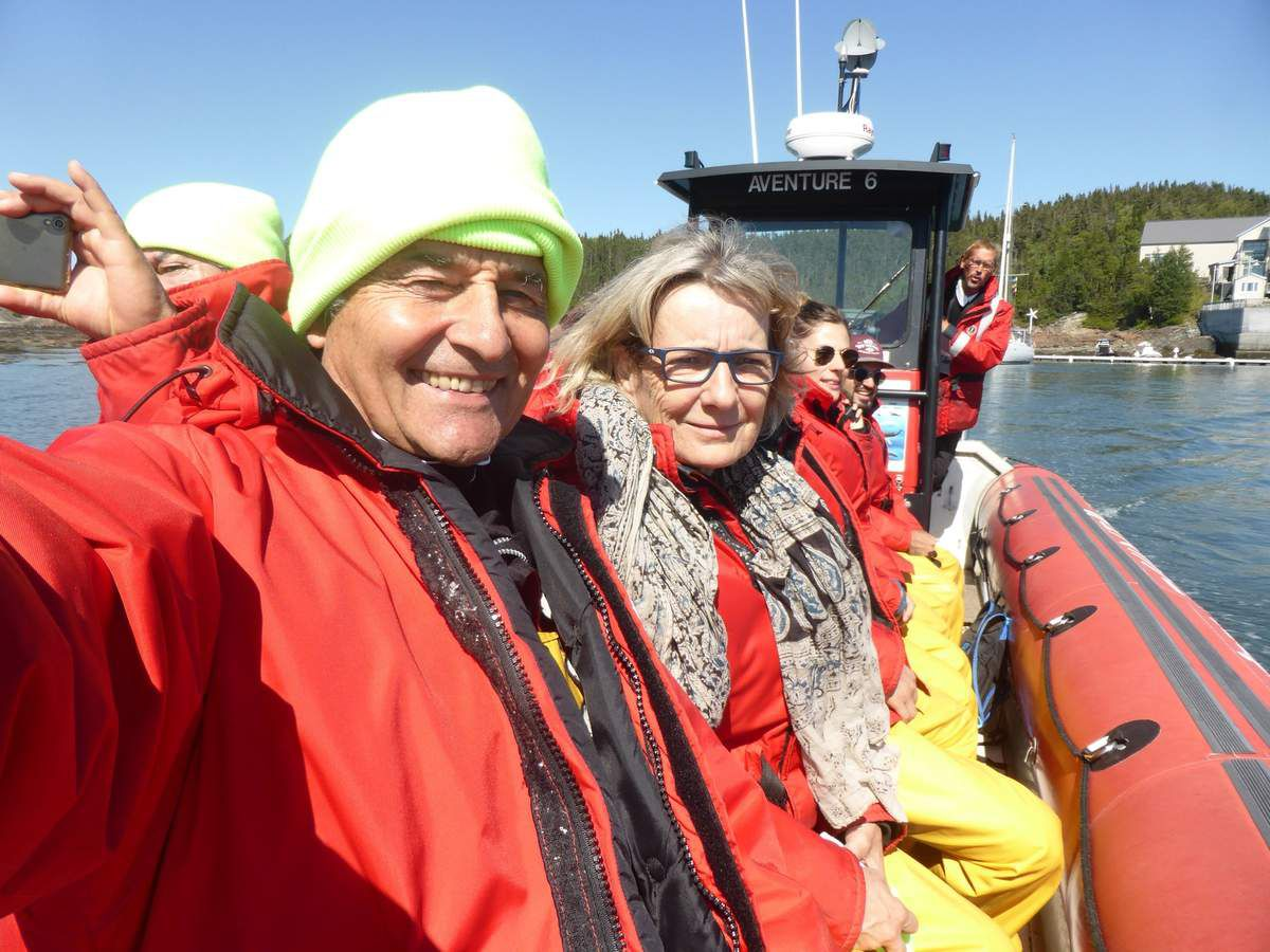 Vendredi 31 août 2018 - Les baleines de Tadoussac