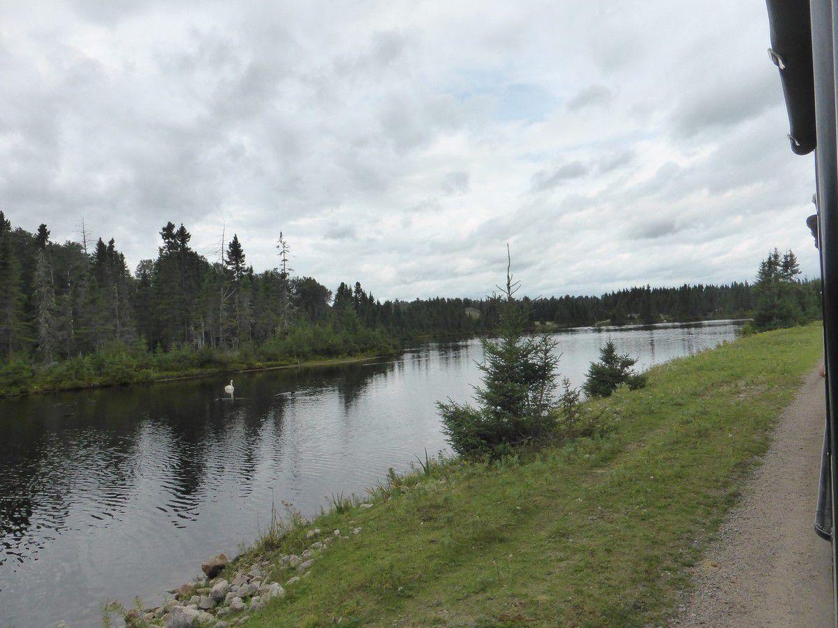 Lundi 3 septembre 2018 - Autour du Lac Saint Jean (suite)