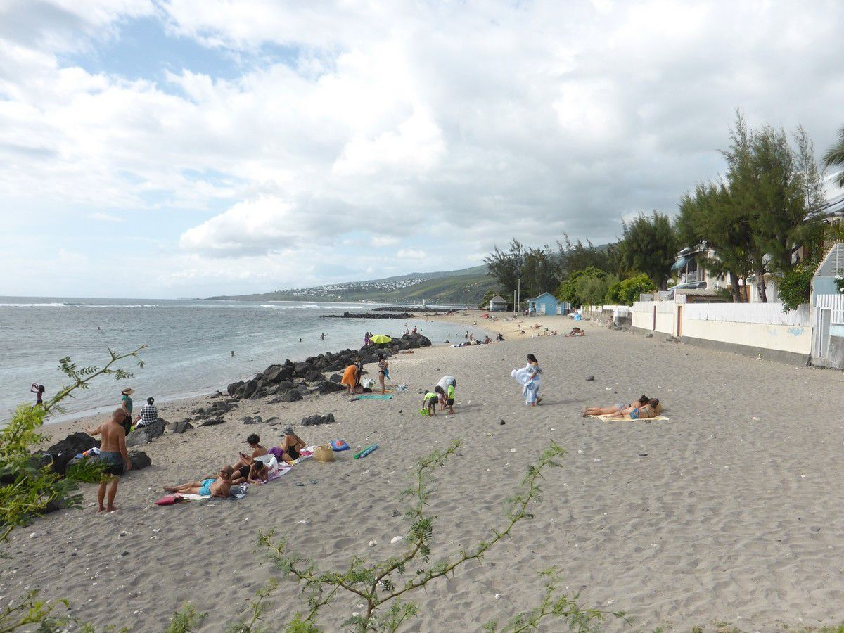 J15 - La plage de Saint Leu