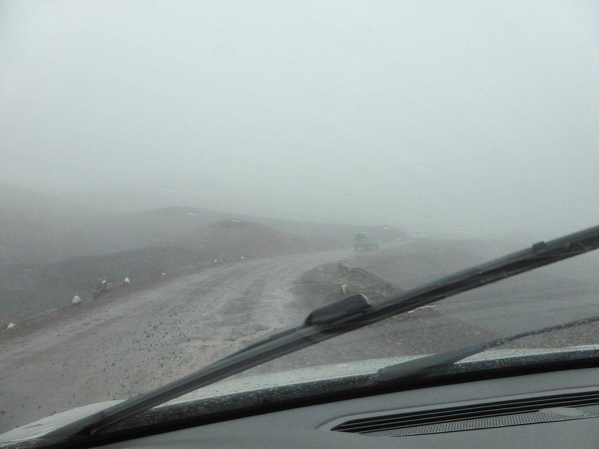 Lundi 7 janvier 2019 - J21 - Le Piton de la Fournaise sous la pluie ...