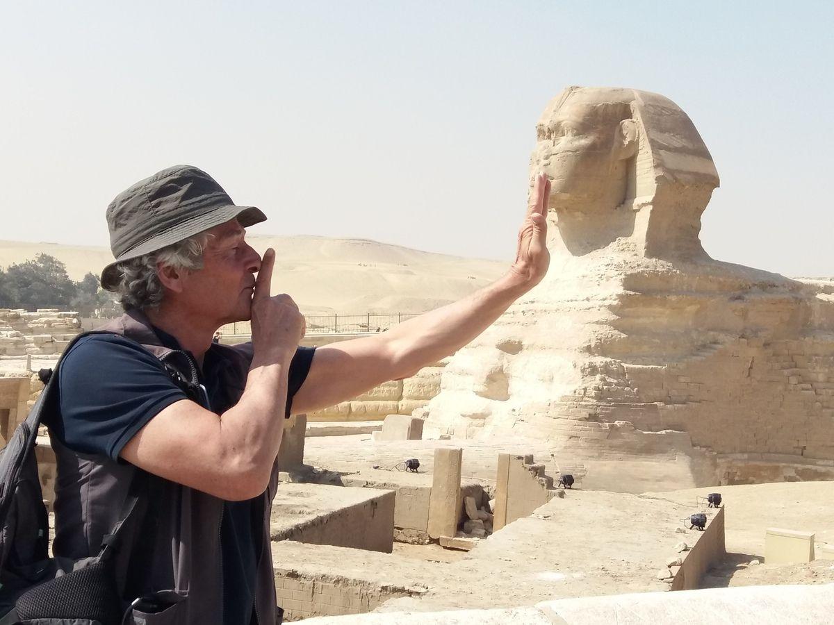 Jeudi 11 avril 2019 - J2 - (petites) arnaques aux pieds des Pyramides