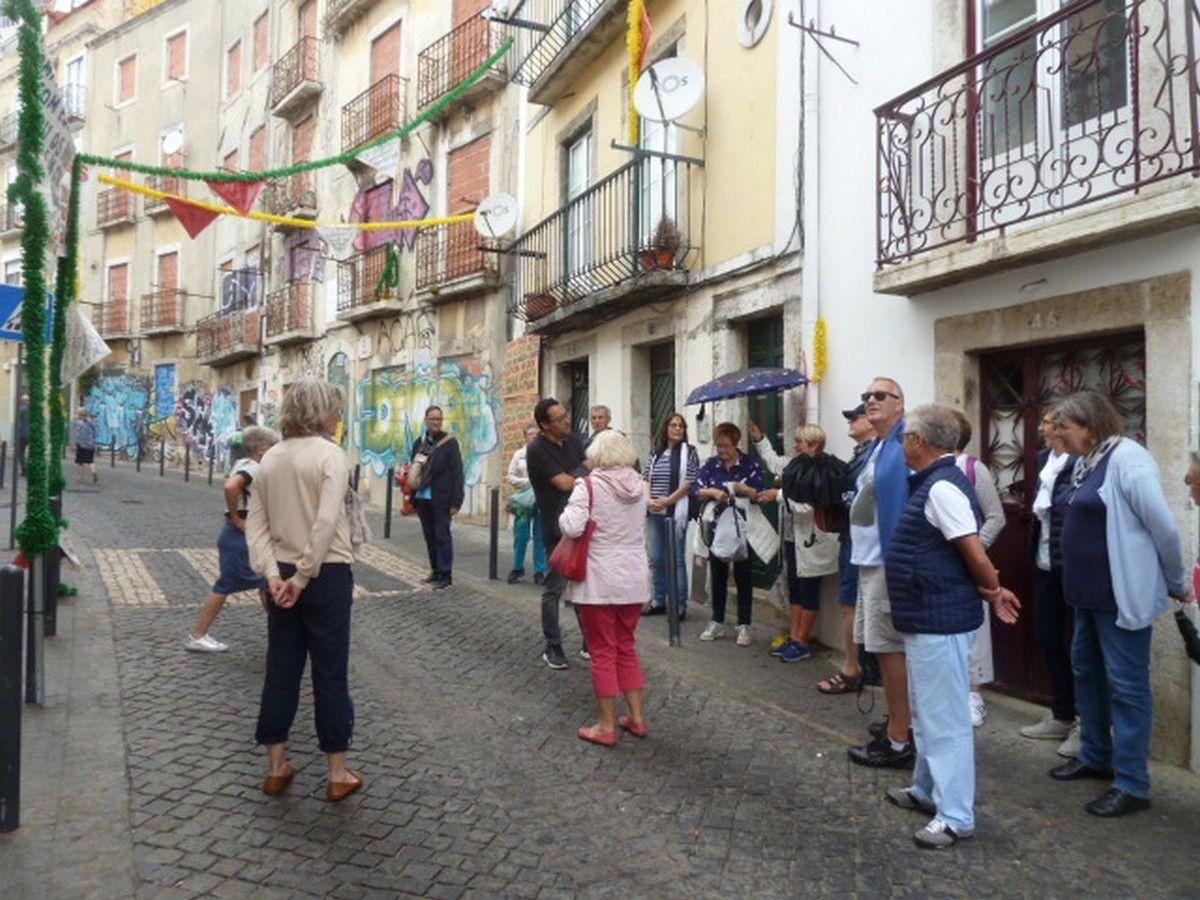 J2 - Le quartier d'Alfama - Le Vieux Lisbonne