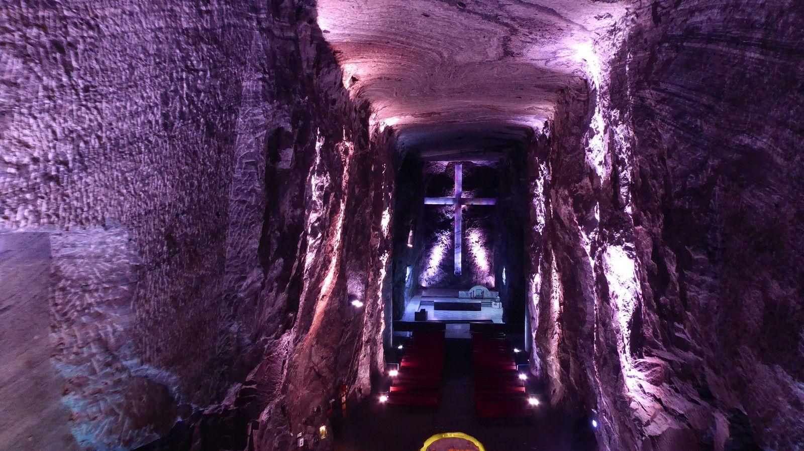 J41 - Mardi 28 Janvier 2020 - Zipaquira, la Cathédrale de Sel...