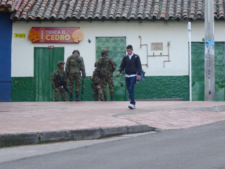 J1 - En vol vers Bogota