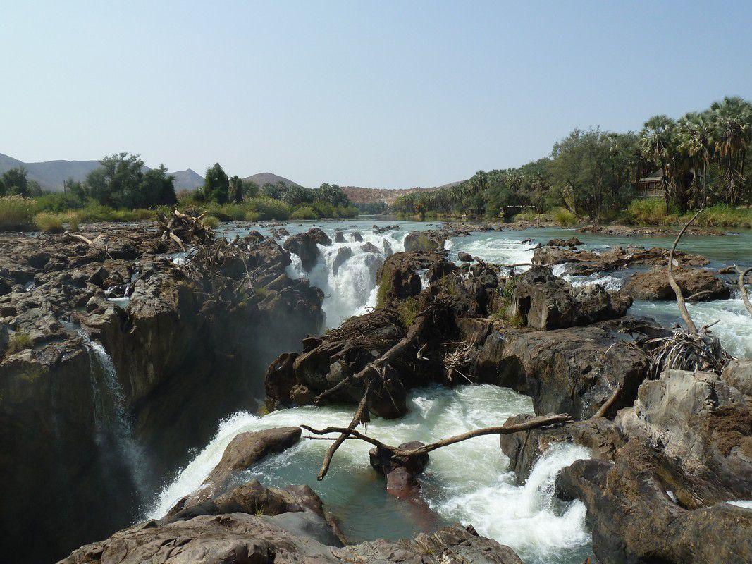 J19 - Mardi 31 juillet 2012 – Epupa Falls – Un petit coin de paradis …