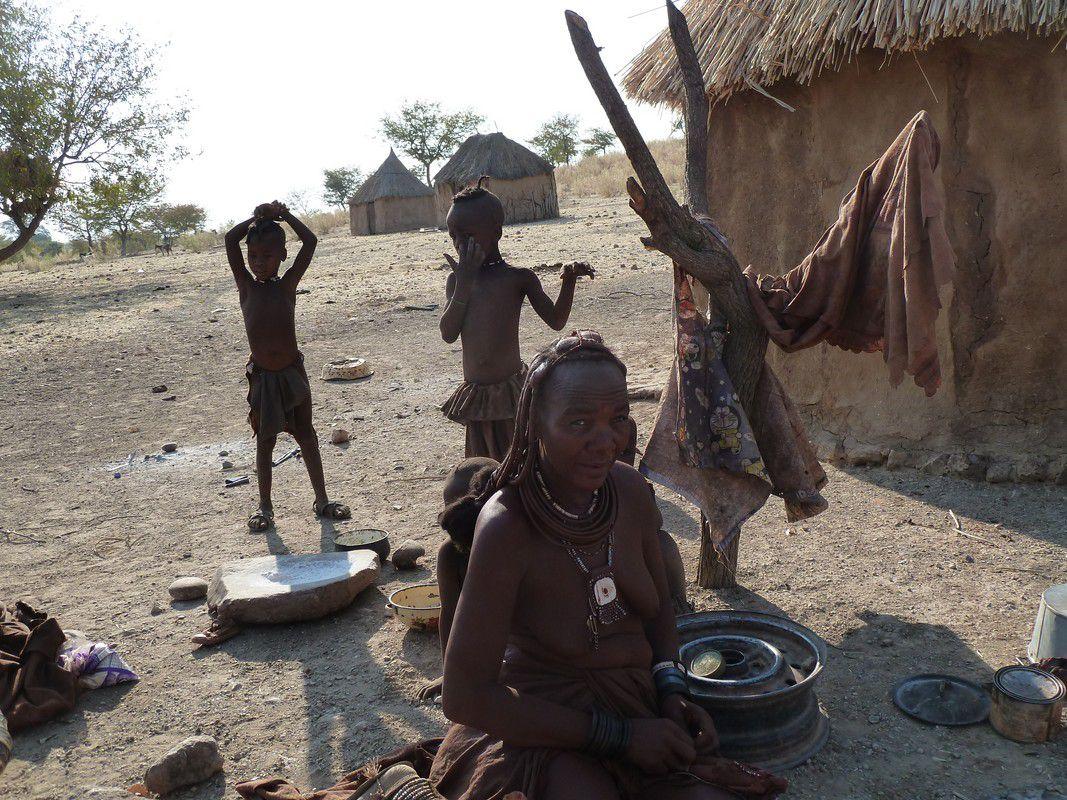 J18 – Lundi 30 juillet 2012 – Opuwo – Chez les Himbas