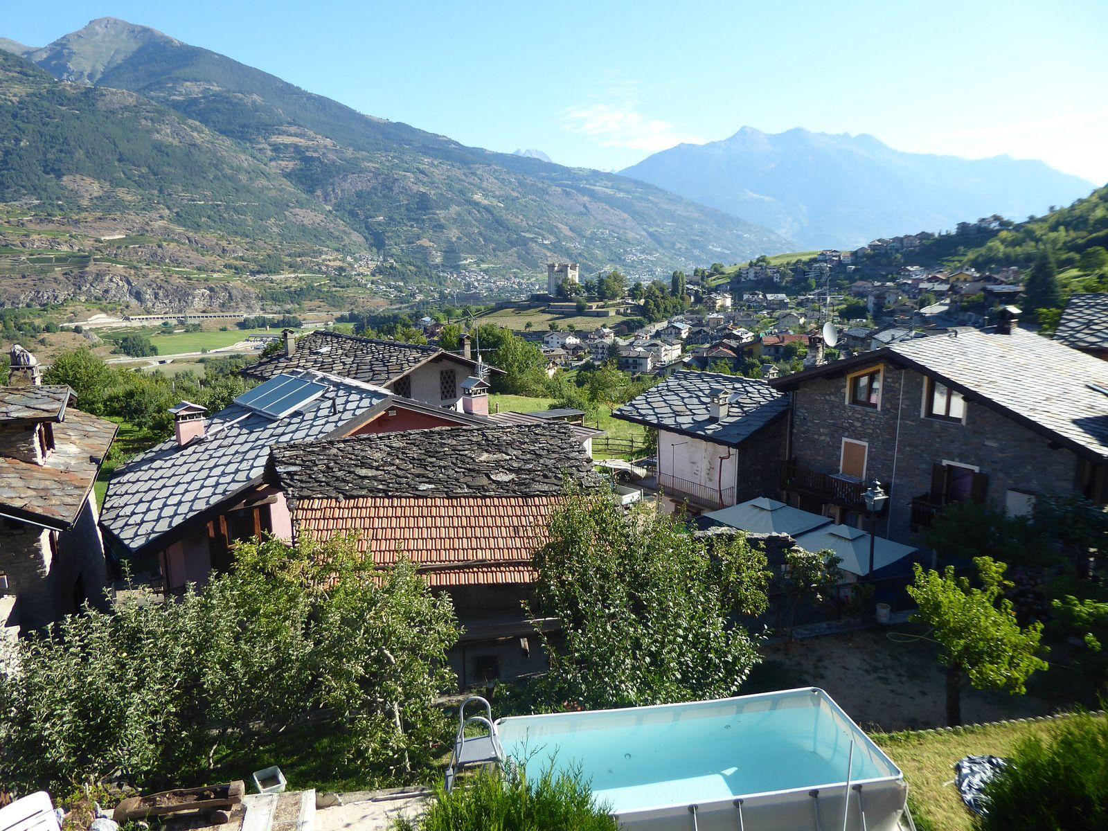 Jeudi 6 août 2020 - J18 - Le Val d'Aoste puis ... La Reposière