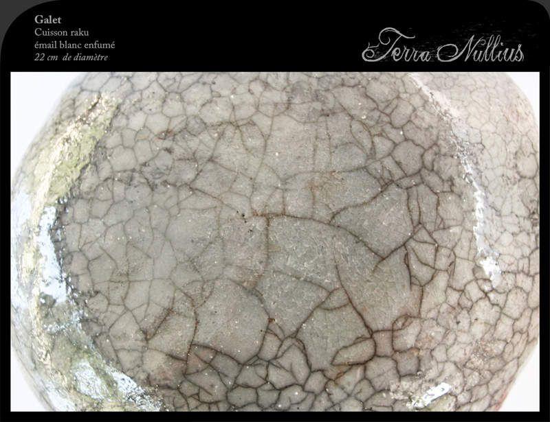 Boule raku détails