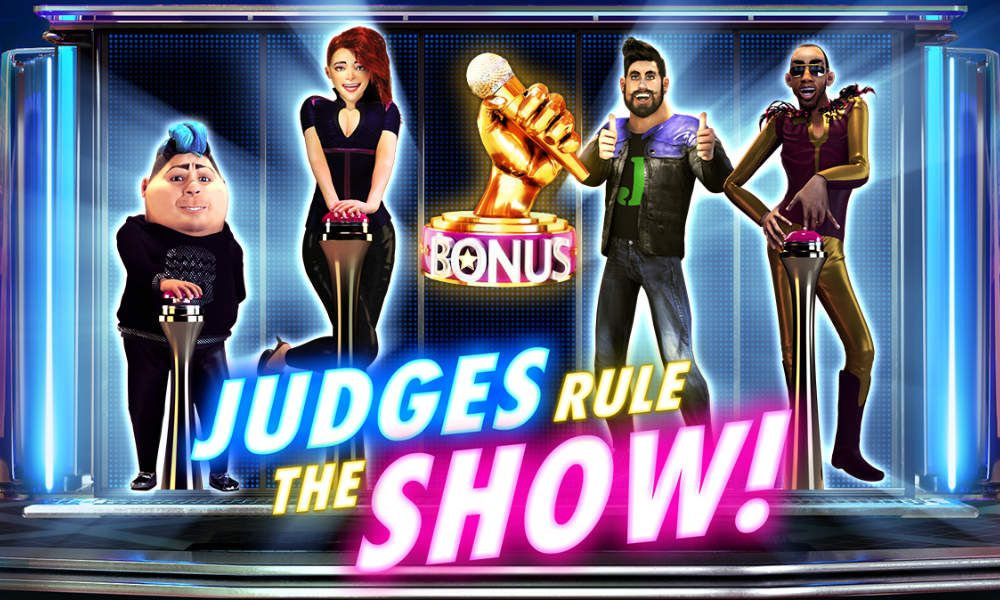 machine à sous en ligne et mobile Judges Rule the Show logiciel Red Rake Gaming