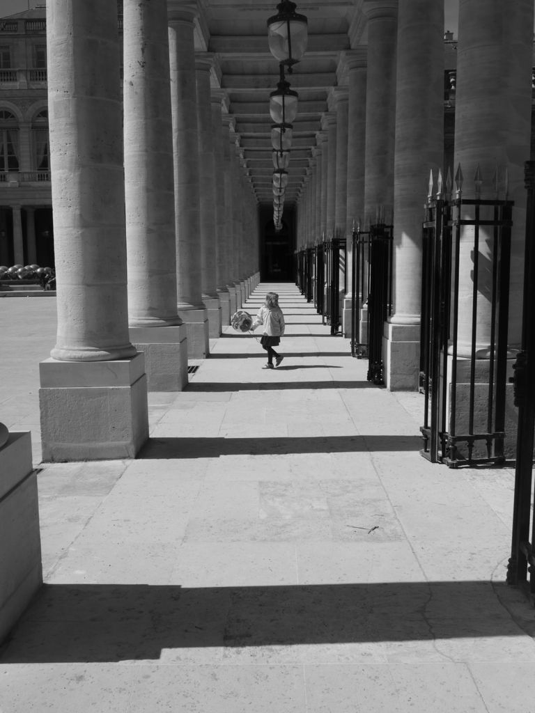 Errances au Jardin du Palais Royal, Paris le 12 avril 2017...