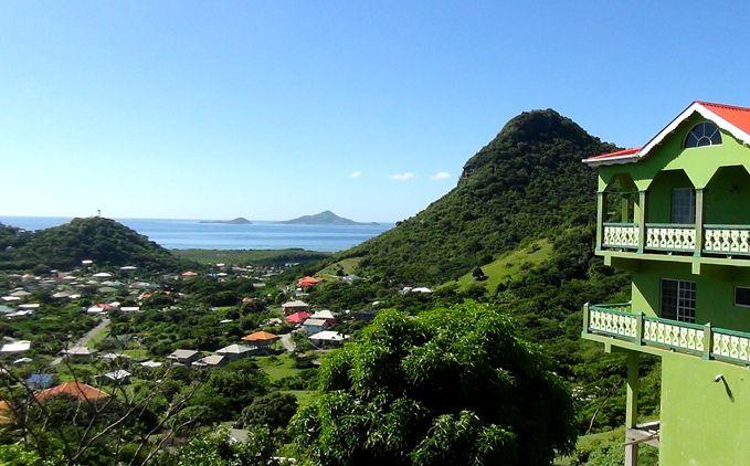 Partie centrale de UNION Island