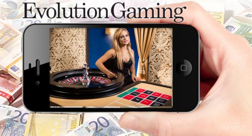 Evolution Gaming mobile