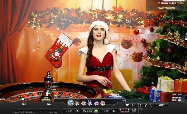 casino en ligne live de Noël de Playtech
