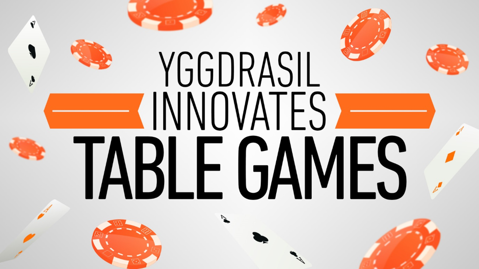Yggdrasil Gaming jeux de table en 3D