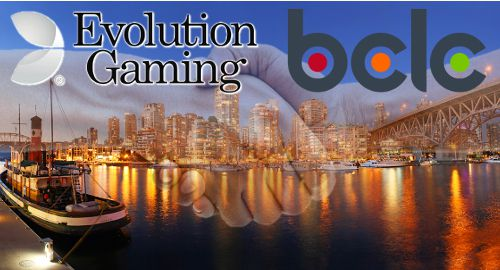 Evolution Gaming Canada BCLC