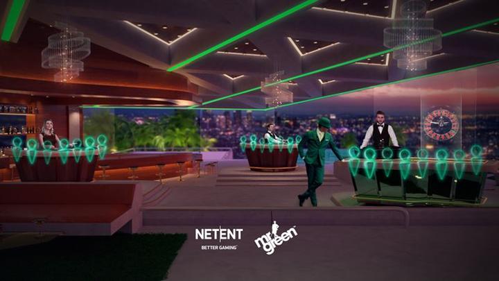 casino live 3D NetEnt