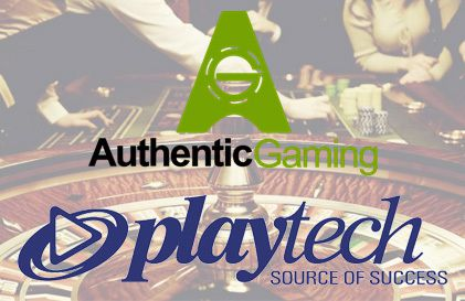 partenariat Authentic Gaming et Playtech