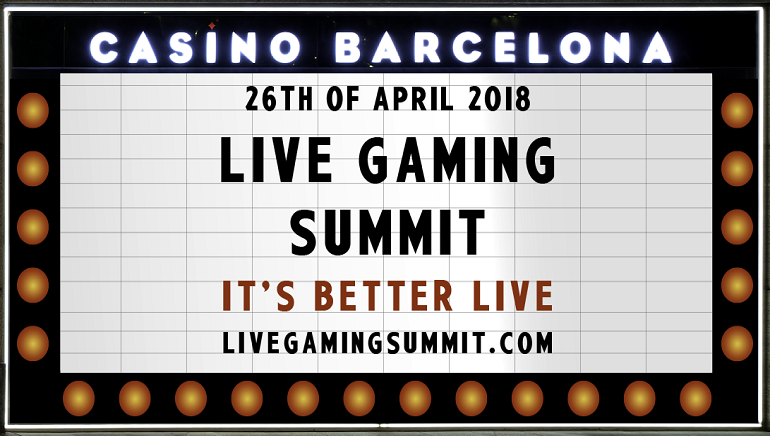live gaming summit 2018 barcelone