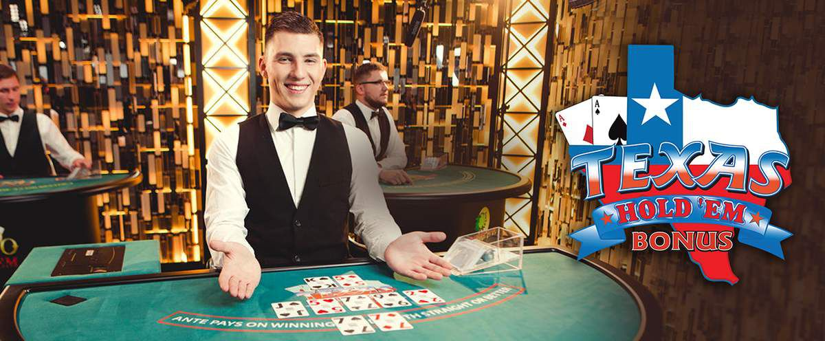 jackpot Texas Holdem Poker Bonus de Evolution Gaming