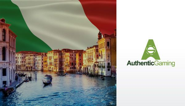 Jeux de casino en ligne live Authentic Gaming en Italie