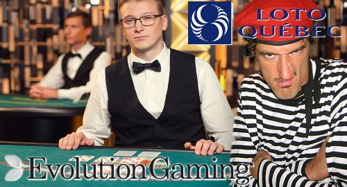 Loto Quebec propose jeux de casino en direct Evolution Gaming en français au Canada