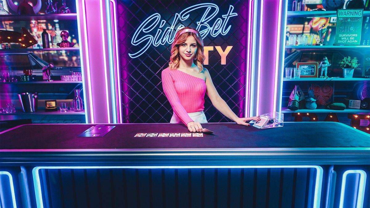 Side Bet City par Evolution Gaming