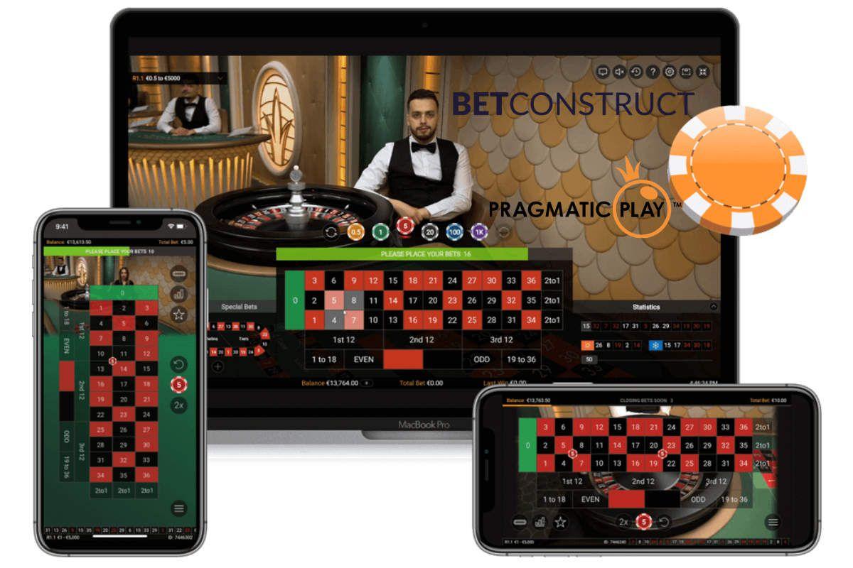 partenariat jeux casino en ligne live Pragmatic Play et Betconstruct