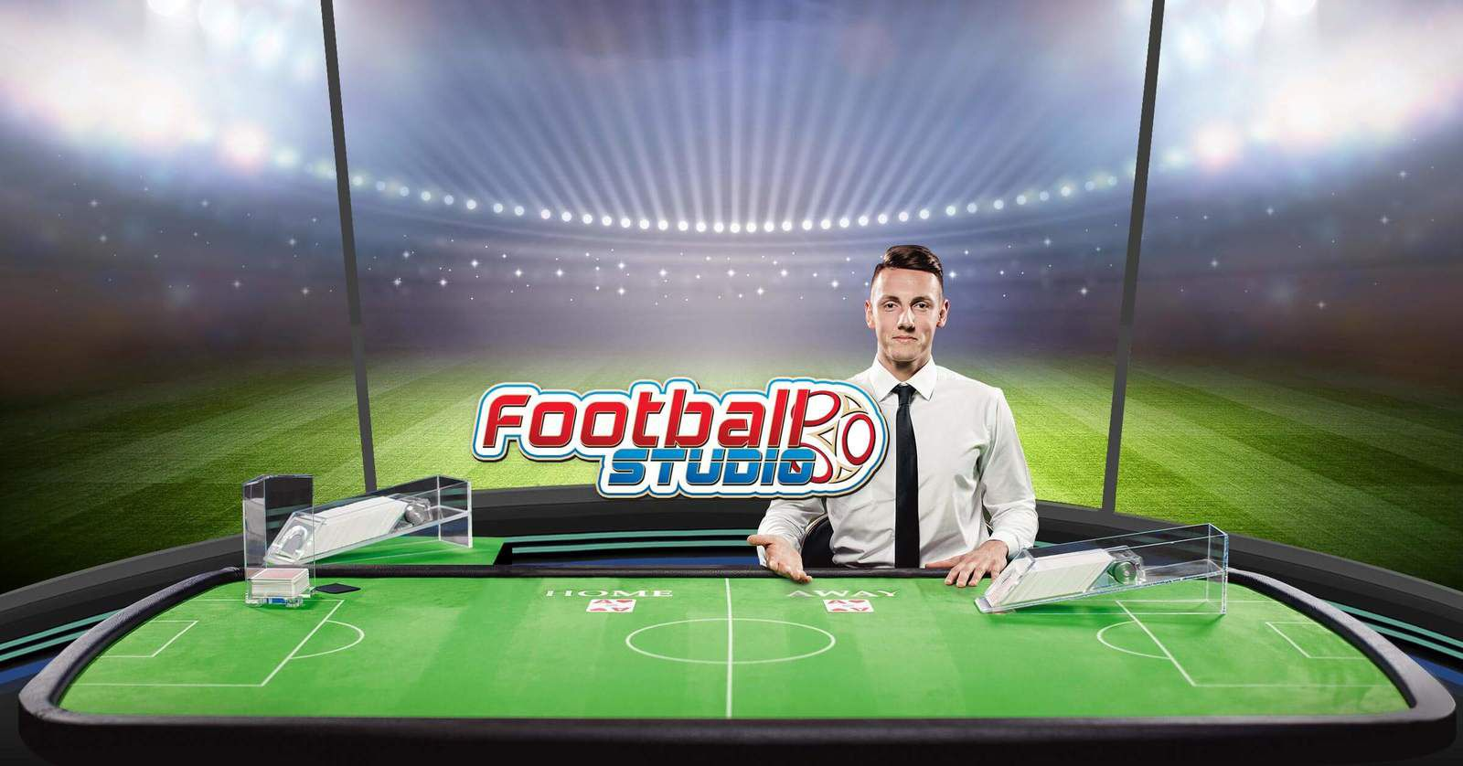 jeu de casino en ligne live - Football Studio développeur Evolution Gaming