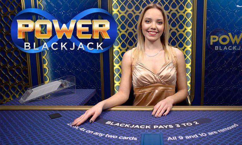Power Blackjack : jeu de black jack en ligne live par Evolution Gaming