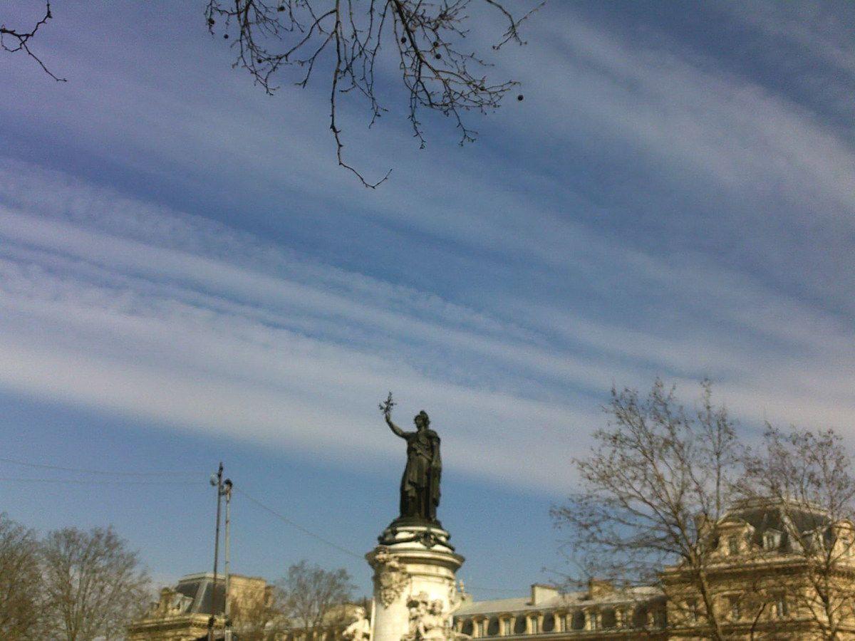 Ciel voilé à Paris