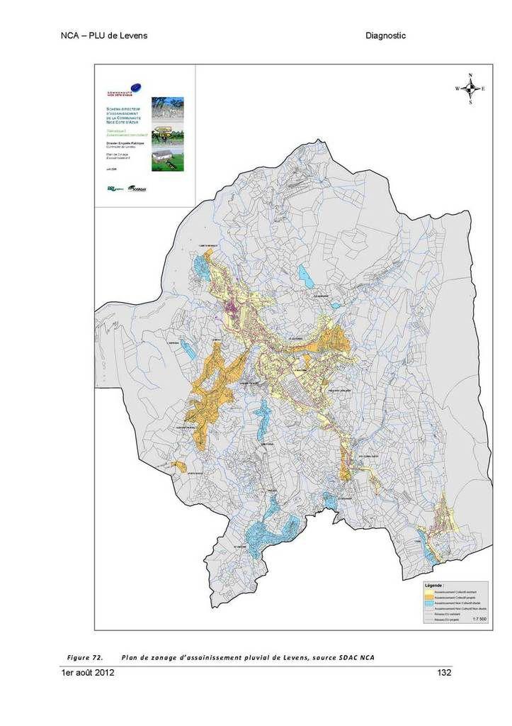 carte du réseau d'assainissement des eaux usées présentée à tort comme réseau pluvial