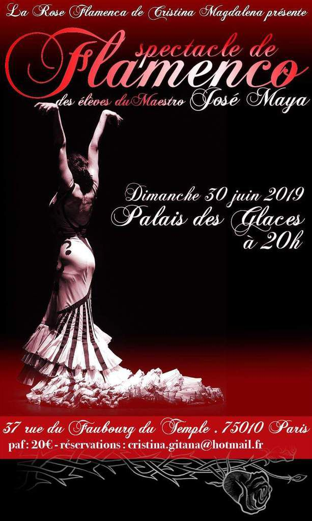 Spectacle de flamenco à Paris!