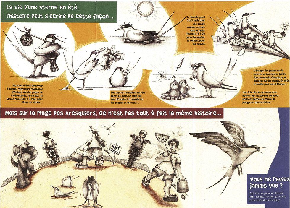 Sterne naine pour le Siel (Syndicat des eaux) /Illustrations Colpizen & PAO Desdemains