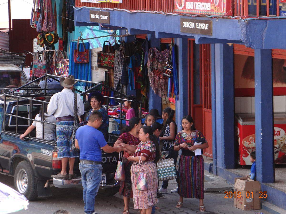 VOYAGE GUATEMALA 2018 Antigua. Lac Atitlan. Triangle Ixil