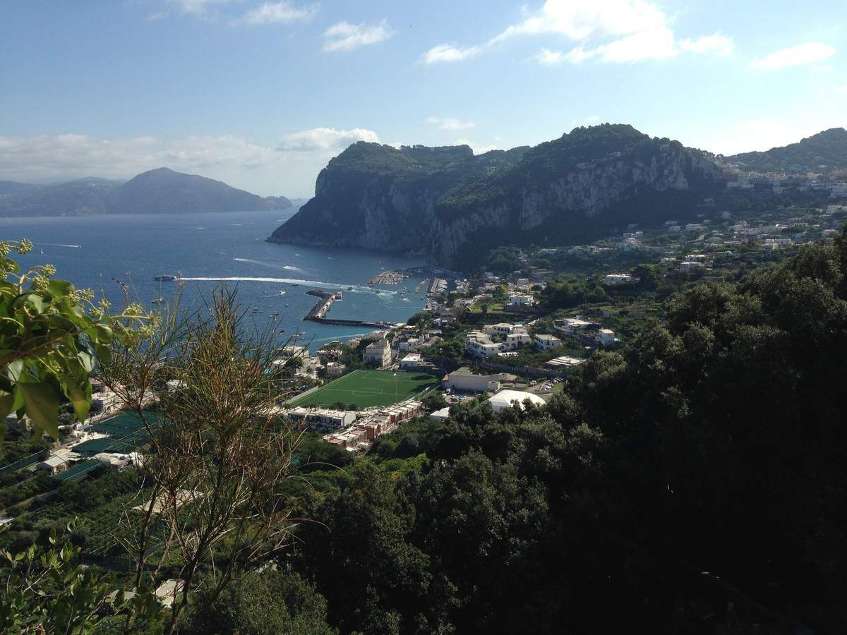 La Côte Amalfitaine. L'ile de Capri. en 2019
