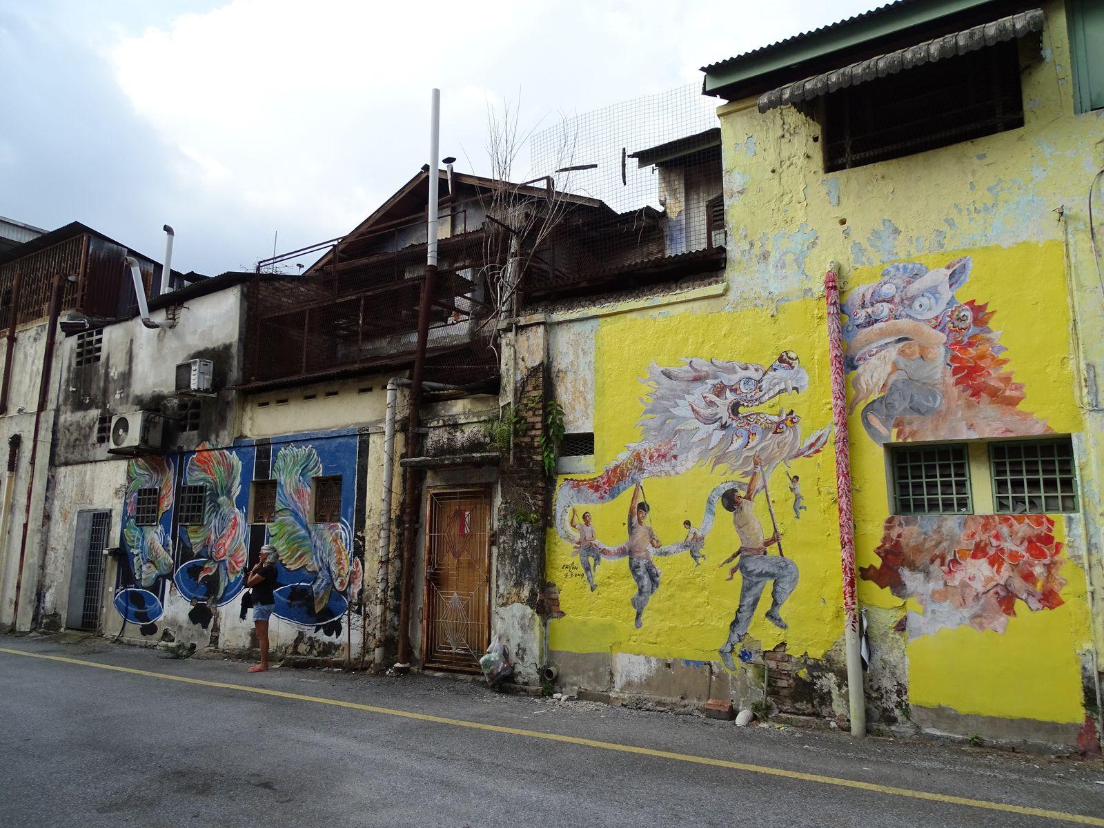 Voyage en Malaisie 2020. IPOH. ILE DE PANGKOR. GEORGETOWN.