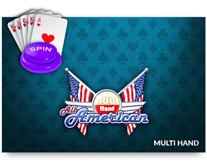 All American Multi Hand Video Poker - NetEnt - Rizk Casino